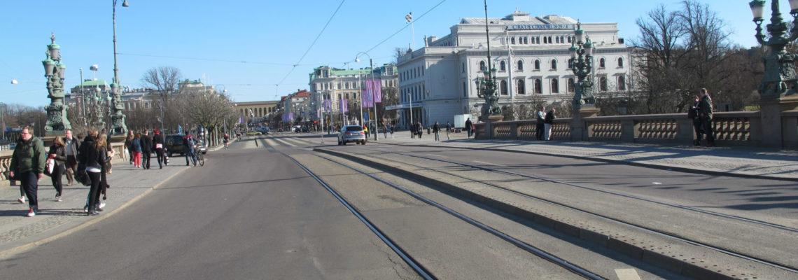 Gatebilde fra Göteborg