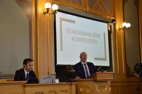 Støttegruppens kommentarer til Stortingets Scandinavian Star kommisjon